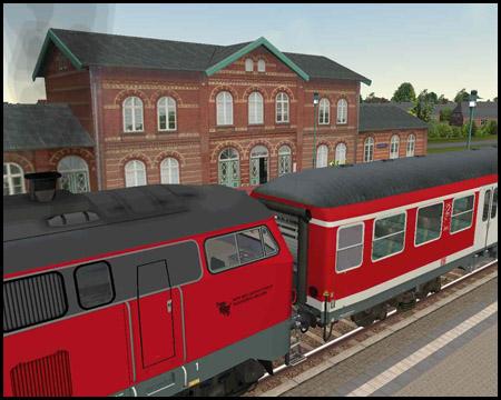 Marschbahn Bredstedt