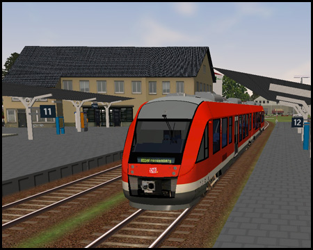 Train Simulator Bahnhof Fröndenberg