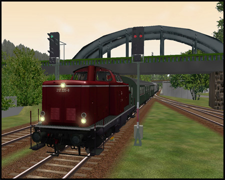 Train simulator Menden Sauerland