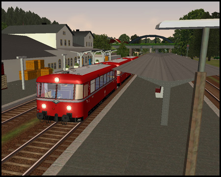 Train Simulator Menden Schienenbus