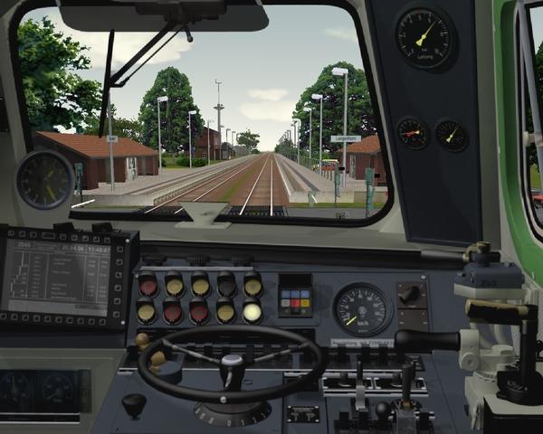 Train Simulator: Führerstand einer Lok
