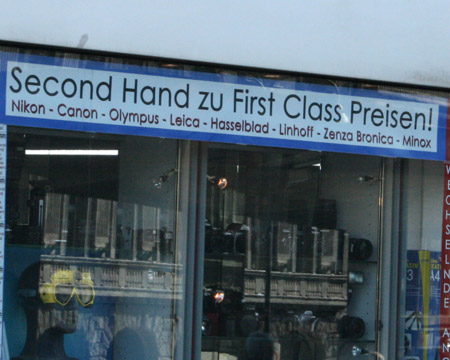 Second Hand zu First Class Preisen