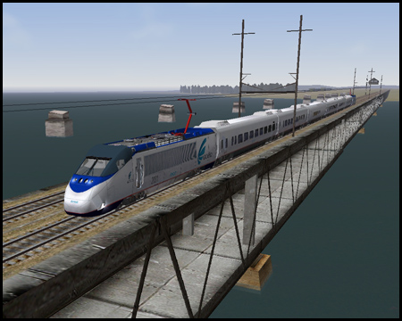 Train Simulator Acela Express