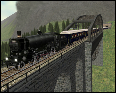 Train Simulator Gölsdorf Viadukt