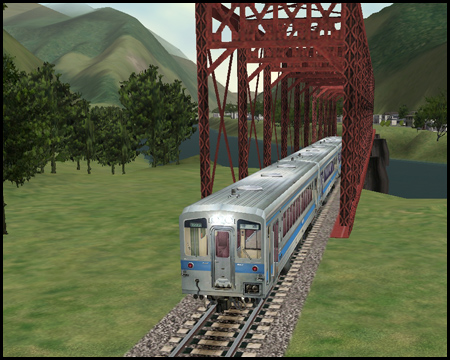 Train Simulator Standardstrecke