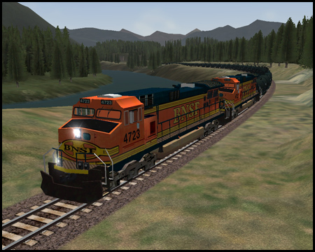 Train Simulator Marias Pass